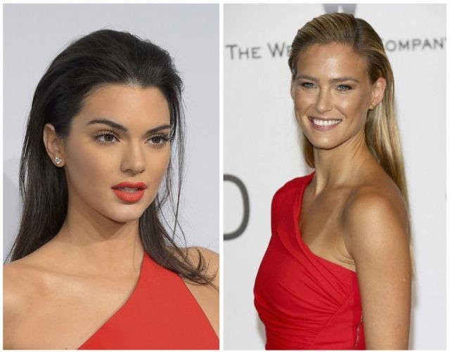 Foto El look efecto mojado o wet look de Kendall Jenner y Bar Refaeli