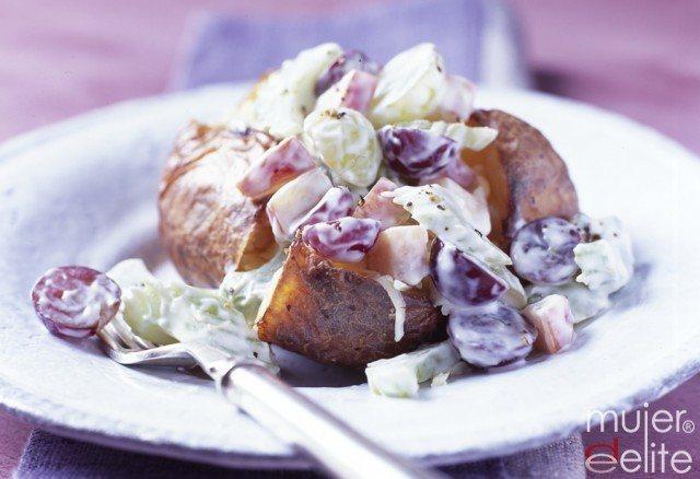 Foto Las patatas rellenas también pueden ser ligeras