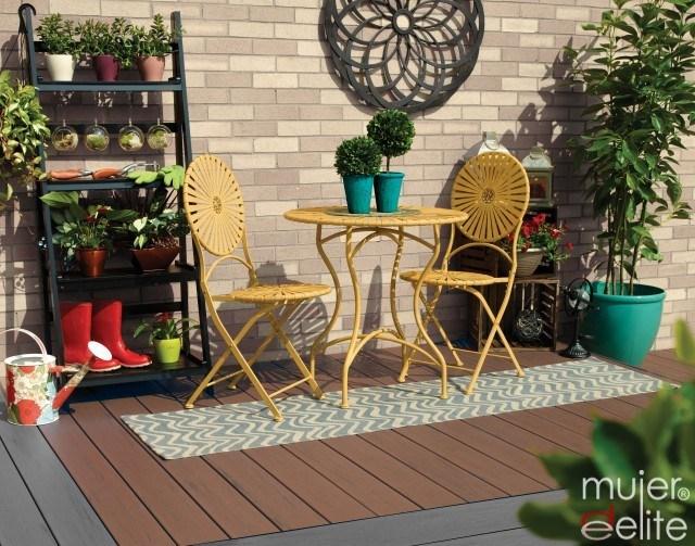 Como decorar una terraza alargada jardineras para for Decorar terrazas alargadas