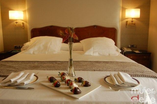 Foto Un desayuno en la cama es uno de los momentos más románticos