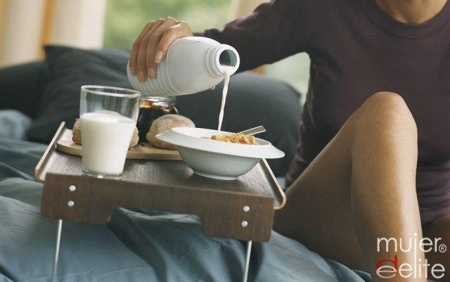 Foto El desayuno en la cama ayuda a tu estado de ánimo el resto del día