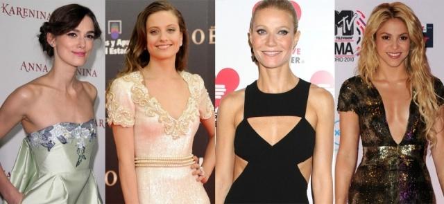 Foto Las celebrities con poco pecho no esconden sus encantos y presumen de escote muy orgullosas