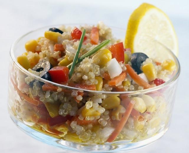 Foto La quinoa en ensalada, una delicia sana, ligera y nutritiva