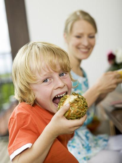 Foto La dieta de los niños en verano