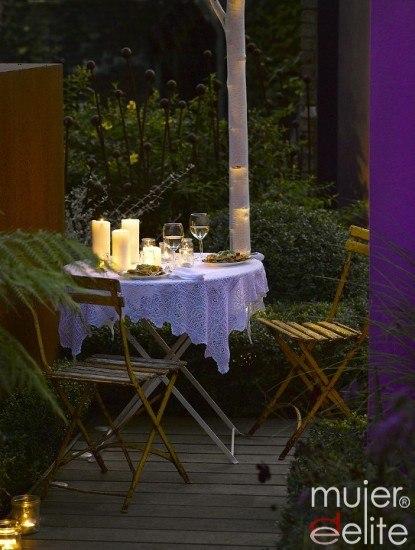 Foto Para ahorrar es necesario disminuir el consumo lumínico en exteriores