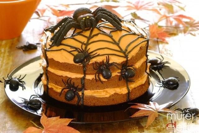 Foto Halloween Spider Cake