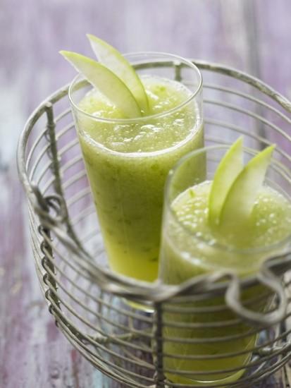 Foto Sorbete dulce de manzana, una refrescante receta