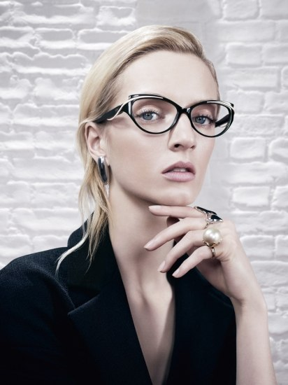 Foto Gafas con forma de mariposa, ideales para disimular una frente ancha y presumir de estilo