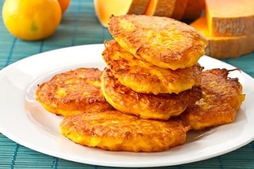 Foto Tortitas de calabaza y canela Dukan
