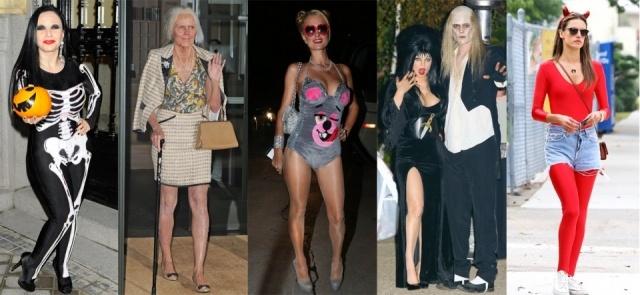 Foto Los famosos han puesto en funcionamiento su ingenio para conseguir los mejores disfraces