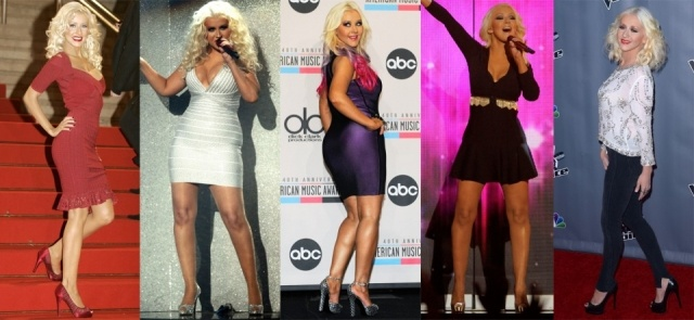 Foto Christina Aguilera ha conseguido adelgazar gracias a una estricta dieta