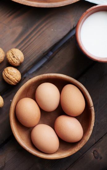 Foto Los lácteos desnatados y huevos te ayudan a adelgazar más rápido