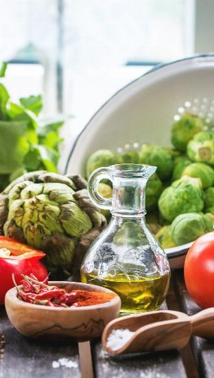 Foto Las alcachofas, las ensaladas verdes y el aceite de oliva, alimentos que te ayudan a adelgazar rápido