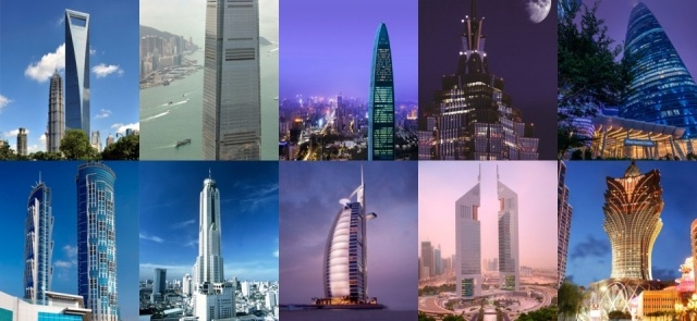 Foto Los 10 hoteles más altos del mundo