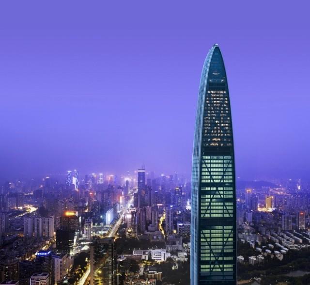 Foto Hotel St. Regis en Shenzhen, es el tercer hotel más alto del mundo