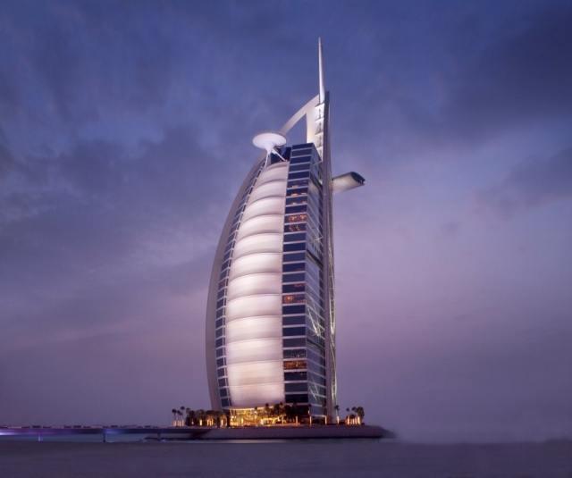 Foto Hotel Burj Al Arab, en Dubai, es el octavo hotel más alto del mundo