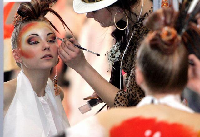 Foto Manchas de maquillaje