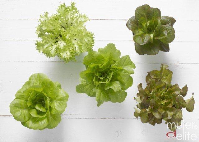 Foto Las ensaladas basadas en lechuga te ayudan a adelgazar