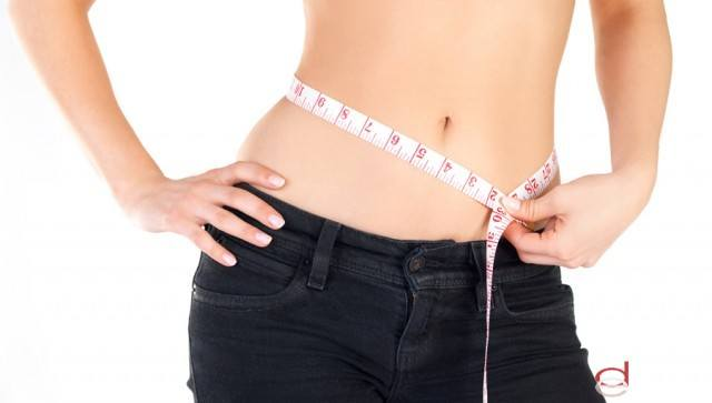 Foto Presume de vientre plano con la dieta disociada