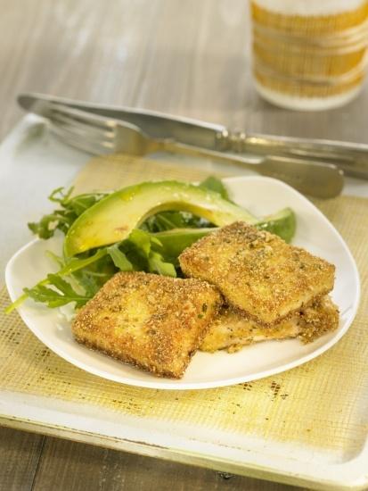 Foto Tofu empanado a las finas hierbas
