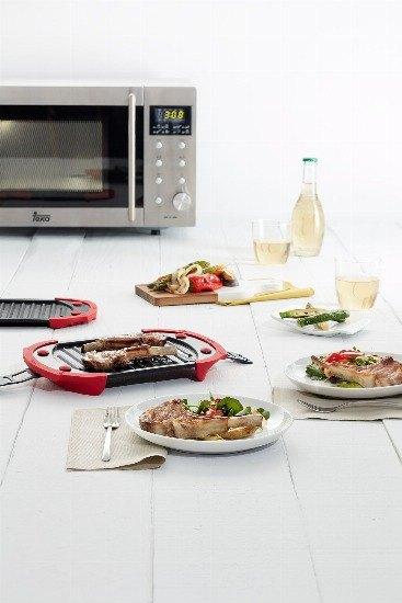 Foto Las ventajas de cocinar en el microondas