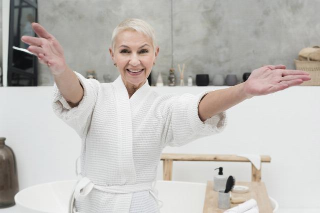 Foto Las claves para presumir de pelo blanco