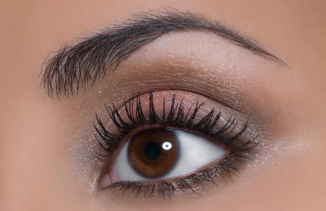 Foto Maquillaje de ojos para invierno