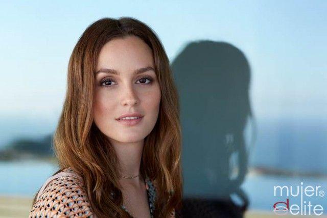 Foto Leighton Meester es una adicta al maquillaje natural