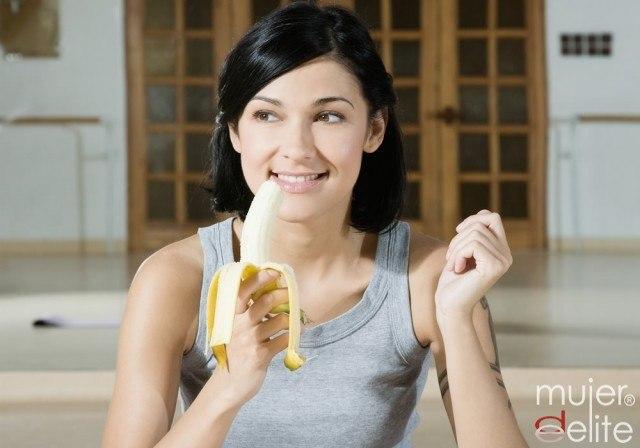 Foto El plátano, fuente de carbohidratos para afrontar la San Silvestre
