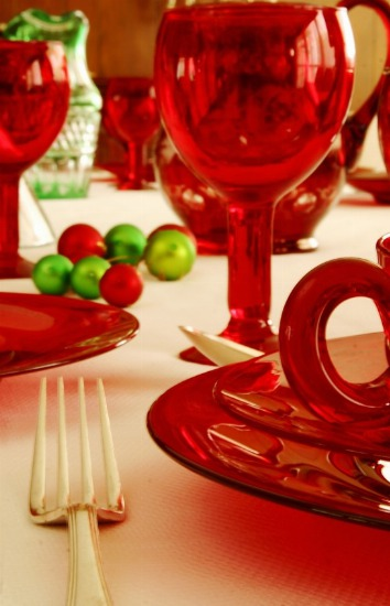 Foto El menaje de mesa desechable, una opción práctica en Navidad