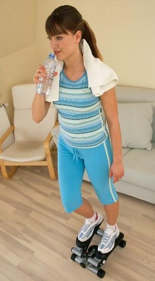 Foto Rutina de ejercicios para tonificar tu figura y adelgazar tras los excesos