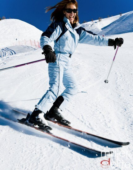 Foto Aunque los deportes invernales son de lo más divertidos, hay que tener cuidado con las lesiones que pueden producir