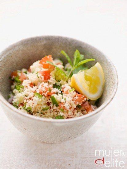 Foto Taboulé, una receta ideal para cuidar tu alimentación si comes de tupper en la oficina