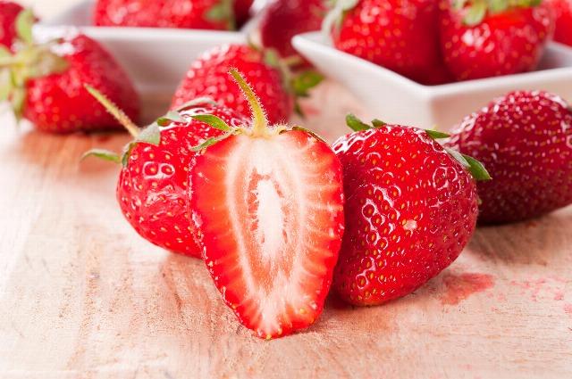 Foto Las fresas, la fruta de primavera