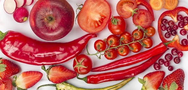 Foto Los alimentos rojos son los que más energía aportan