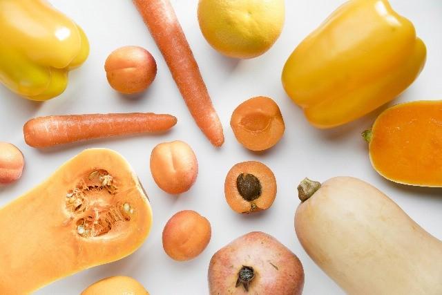 Foto Los alimentos naranjas ayudan a ser más feliz