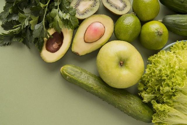 Foto Los alimentos verdes producen sensación de bienestar y serenidad