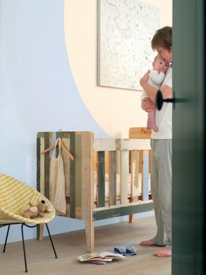 Foto Cómo pintar las habitaciones de niños y bebés