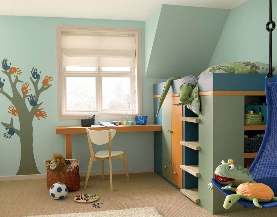 Tendencias decoración y consejos para pintar habitaciones infantiles ...
