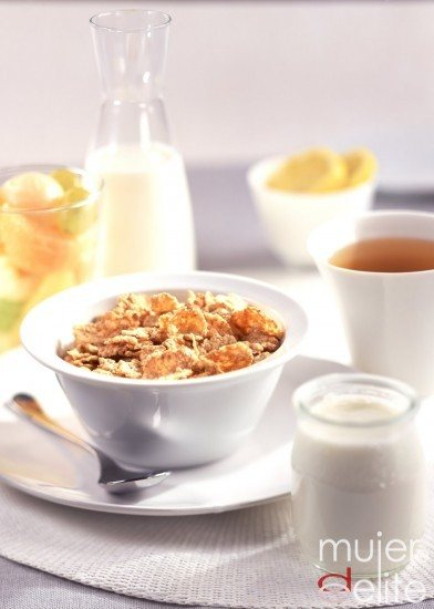 Foto Desayuno equilibrado y saludable en la dieta mediterránea