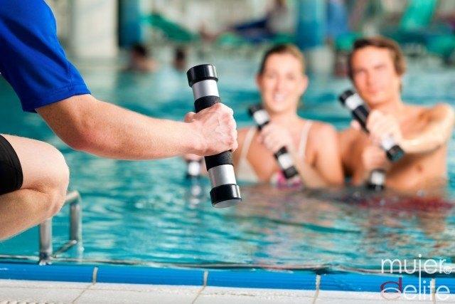 Foto Los beneficios de practicar deporte en el agua