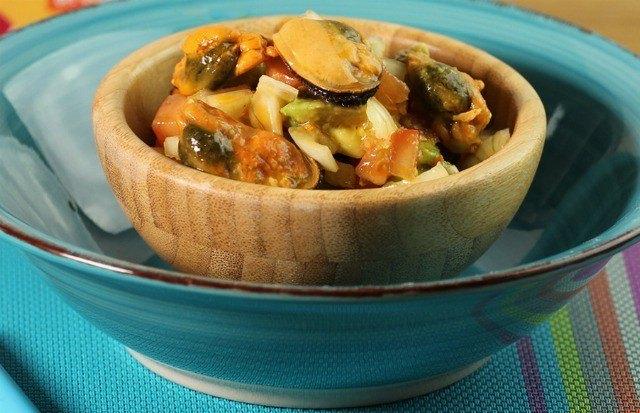 Foto Guacamole de mejillones en escabeche