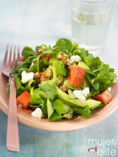 Foto La ensalada de berros, una delicia saludable y rica en fibra