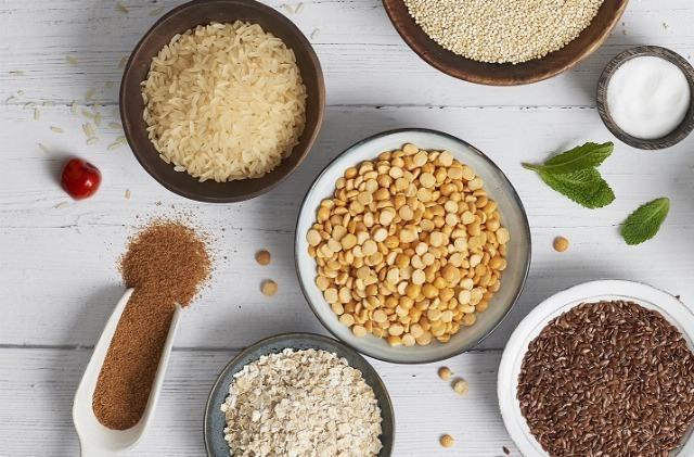 Foto Los cereales integrales son la base de la alimentación macrobiótica