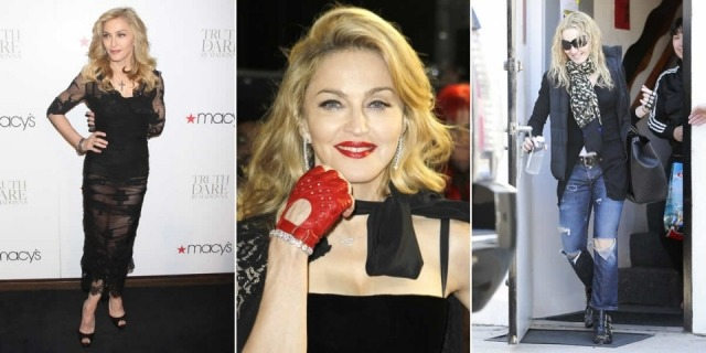 Foto Madonna, fiel al deporte, a la dieta macrobiótica y a los rellenos para quitarse años
