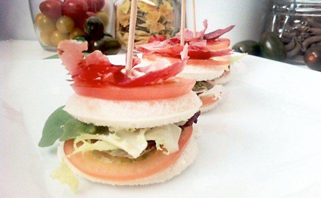 Foto Bocaditos de jamón y verduras, un entrante perfecto para el menú más saludable el Día de la Madre