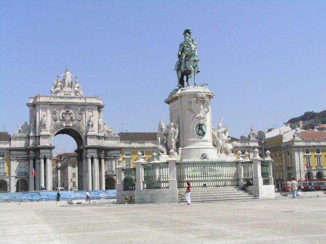 Foto Praça do Comércio, uno de los principales polos de la cultura y el ocio en Lisboa