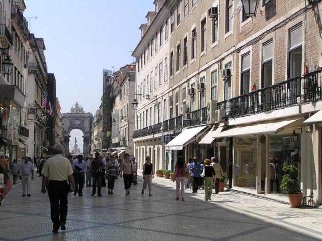 Foto Vive la Lisboa más animada en la Baixa lisboeta