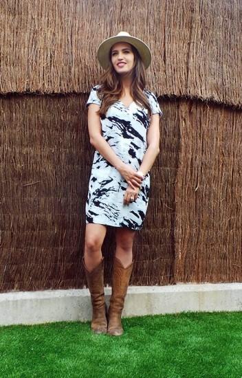 Foto El look country de Sara Carbonero para un día de picnic