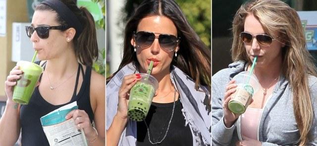 Foto Lea Michele, Alessandra Ambrosio y Britney Spears, adictas a los batidos detox